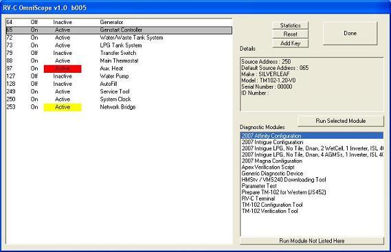 Omniscope screenshot